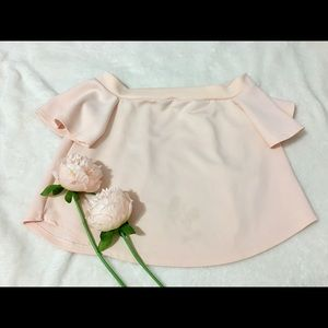 Womens OffShoulder Blouse Small